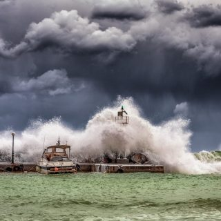 the storm: getting through difficult times